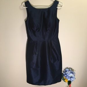 Alfred Sung Navy Blue Formal / Party Dress, Sz 6